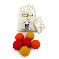 Friendsheep Eco Wool Pet Toy Ball - Cat, Ferret, Small Dog -