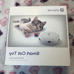 Electric Pet Cat Smart Teaser Toy Kitten Interactive Rotatin