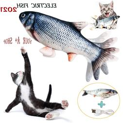 Electric Realistic Interactive Fish Cat Kicker Crazy Dancing