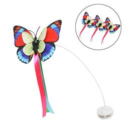 Bascolor Electric Rotating Cat Toy Butterfly Refills Set of