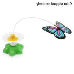 Electronic-Electric-Butterfly-Flying-Around-the-Flower-Pet-C