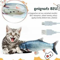 Electronic Pet Cat Toy Electric USB Charging Simulation Pet
