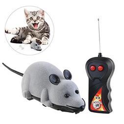 ROSENICE Electronic Remote Control Mini Mouse Cat Toy Simula