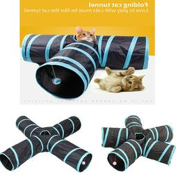 EPaw Collapsible Cat Tunnel 3/4/5 Interactive Indoor Cats Pe