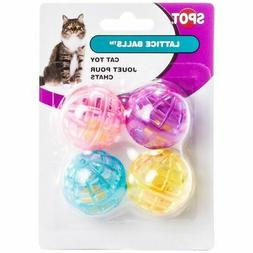 ETHICAL PRODUCTS 773073 4-Pack Lattice Balls Cat Toy