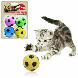 Spot Ethical Sponge Soccer Balls Cat Toys Interactive Small