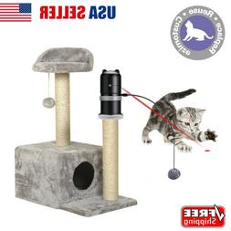 NEW Exercise Electronic Kitten Cat Toys Add To Pet House Kit