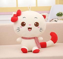 Aiweasi Exquisite Cute Soft Gift Kids 20cm Fluffy Cat Plush