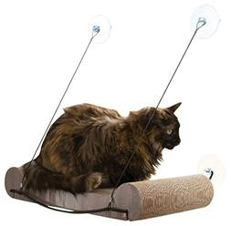 "K&H Pet Products EZ Mount Scratcher Kitty Sill Tan 11"" x 2"