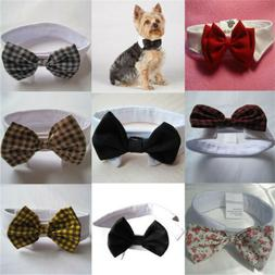 Fashion Dog Cat Pet Puppy Kitten Toy Bow Tie Necktie Collar