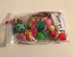 Fashion's Talk Cat toys Variety Pack for Kitty 19 pieces