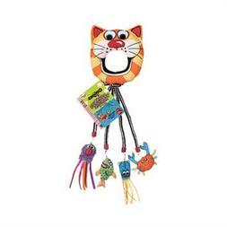 Fat Cat Catfisher Doorknob Hanger with 4 Catnip Lures