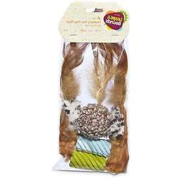 Leaps & Bounds Feather Cat Toy Multipack, 5 CT, Assorted