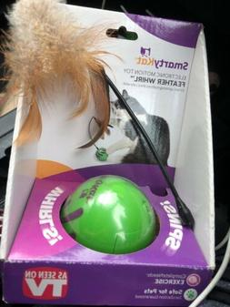 SmartyKat Feather Whirl Electronic Motion Cat Toy As Seen On