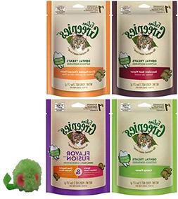 Greenies Feline Dental Treats Cats 5 Pack Variety Bundle - I