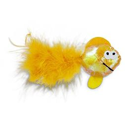 Leaps & Bounds Fish Cat Toy, One Size Fits All, Assorted