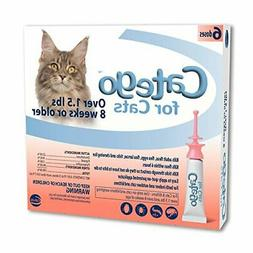 Flea and Tick Control for Cats Kills Adult Fleas Eggs and Ti