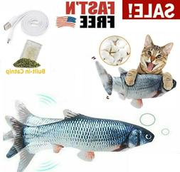 Flippity Fish Realistic Cat Toy Electric Floppy Moving Catni