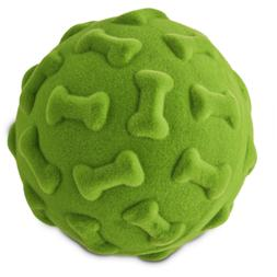 Leaps & Bounds Medium Flocked Foam Ball Toy, Multi-Color