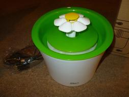 Catit Flower Fountain: 3L Drinking Fountain with Triple-Acti