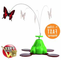 Pet Zone Fly By Spinner Realistic Butterfly Cat Toy With Ele