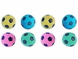 PetFavorites™ Foam Soccer Balls Cat Toys - Pack of 8