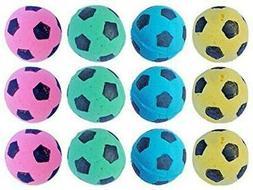 PetFavorites Foam/Sponge Soccer Ball Cat Toy Best Interactiv