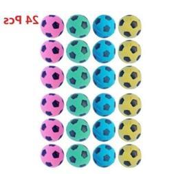 PetFavorites trade; Foam/Sponge Soccer Ball Cat Toy Best Int