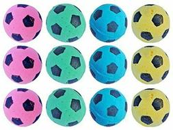 PetFavorites Foam/Sponge Soccer Ball Cat Toy for Cats, Soft/