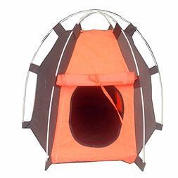 Zero Folding Pet Tent Portable Cat House Small Animal Activi