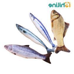 <font><b>Plush</b></font> Creative 3D Printed Fish Shape <fo