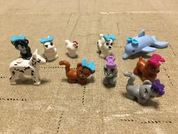 LEGO Friends Pets Minifigs Animal Dog Cat Bunny Chicken Dolp