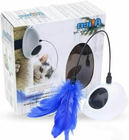 fun laser interactive cat toys automatic rotating