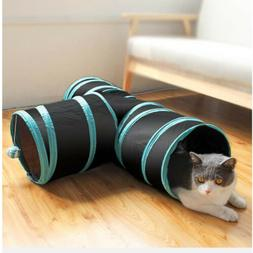 3 WAY Y Shape Pet Funny Tunnel Toy Cat Kitten Foldable Play
