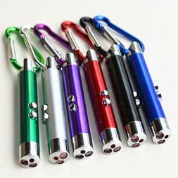 Funny Cat Pet Toy LED Lazer Pointer Pen With Bright Mouse An