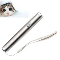 Funny Cat Pet Toys LED Laser Lazer Pointer Pen Light Kitten