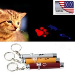 US Funny Dog Cat Funny Pet Toys LED  Pointer light Pen Brigh