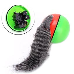 Kocome 9CM Funny Dog Cat Weasel Jumping Moving Rolling In Wa