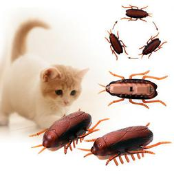 Funny Electronic Cockroach Pet Cat Puppy Kitten Interactive