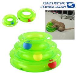Funny Pet Cat Crazy Ball Disk Interactive Toys Amusement Pla