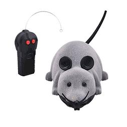 Yunt Funny Pet Cat Dog Kids Electric RC Mouse Toys Wireless