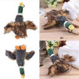 Funny Pet Puppy Chew Squeaker Squeaky Sound Plush Duck Chick