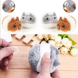 Funny Plush Fur Cat Bite Shake Mouse Toy Cute Pet Kitten Int