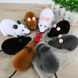 Funny Remote Control RC Rat Mouse Wireless For Cat Dog Pet T