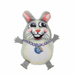 "Fuzzu Teacup Fluffs BUNNY Cat Toy w/Organic Catnip 3 1/4"""