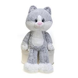 "Fiesta Toys Fuzzy Folk Bean Bag 16"" Cat Christina Animal Plu"