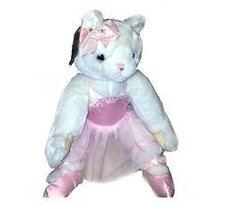 Geoffrey Inc Animal Alley White Ballerina Cat with Tutu
