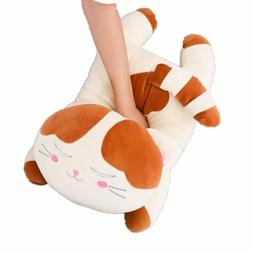 "Giant Stuffed Plush Kitten Kitty Cat - Animal Pillow 23.5"" O"