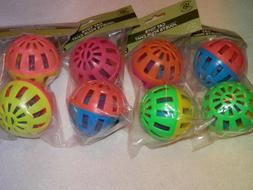 GKC CAT TOYS *** TWO JINGLE BALLS *** NEW *** YOUR CAT WILL