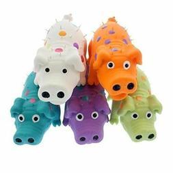"Multipet Globlet Pig Mini Squeaker Dog toy 4"" EACH SOLD SEPA"